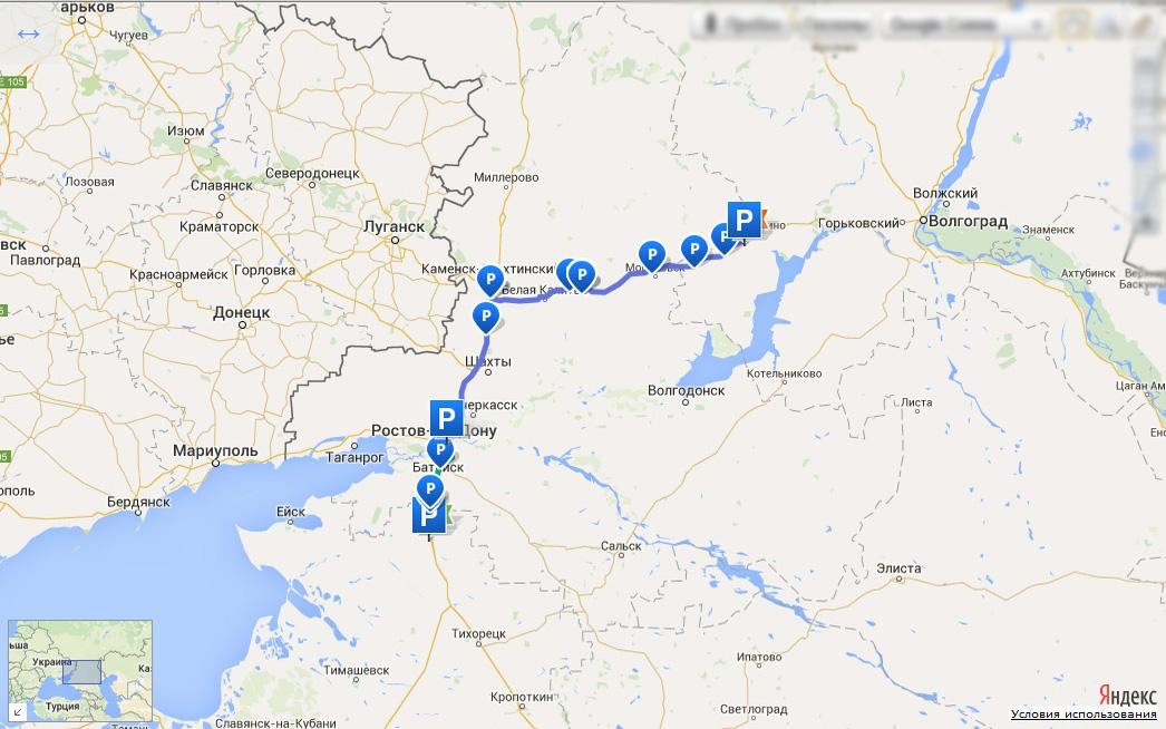 Мотопутешествие в Крым. 16 июня 2015. Волгоград