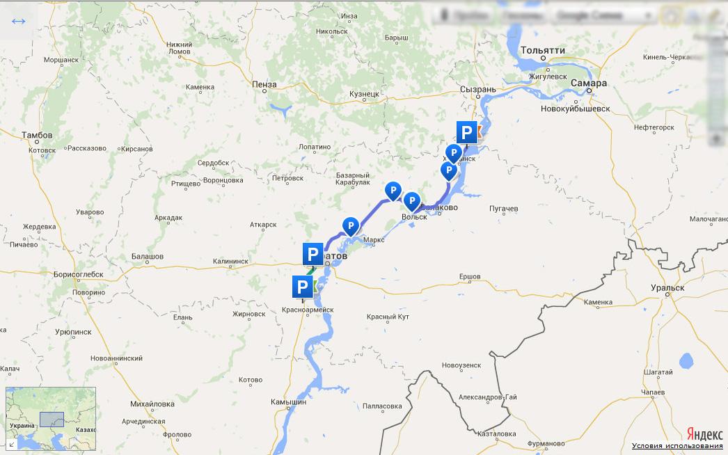 Мотопутешествие в Крым. 19 июня 2015. Сызрань