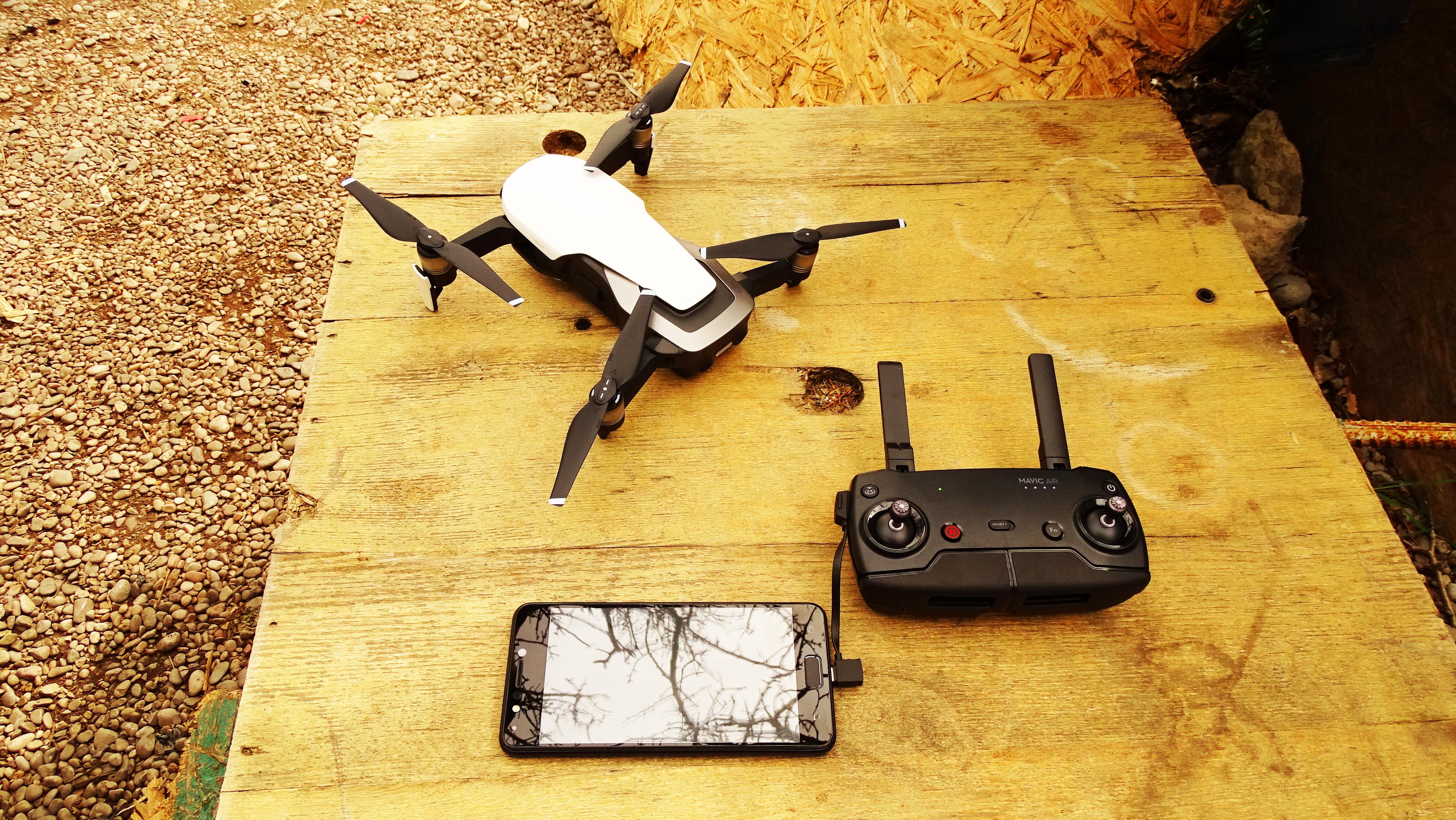 Квадрокоптер DJI Mavic Air для путешествия