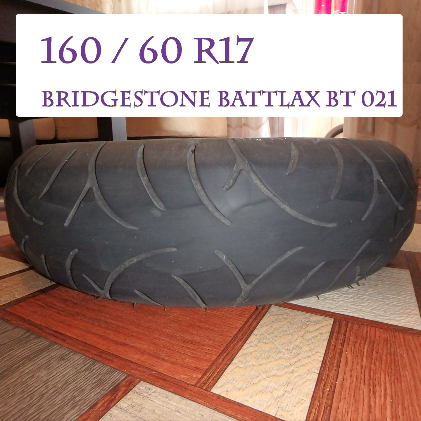 Bridgestone Battlax bt 021 (160 60 R17)